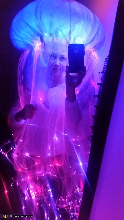 Jelly Fish at home, Jelly Fish Costume