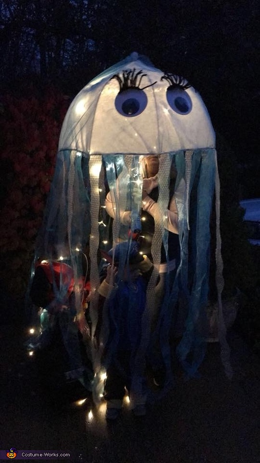 Jelly Fish with Lights Costume