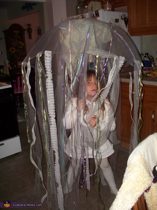 Jellyfish - Homemade costumes for girls