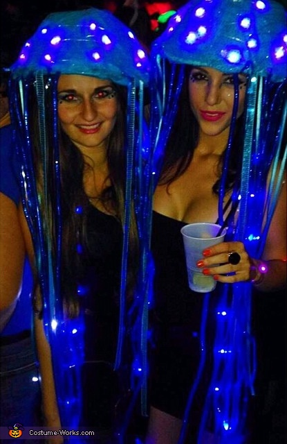 LED Jellyfish Halloween Costumes, LED Jellyfish Costumes