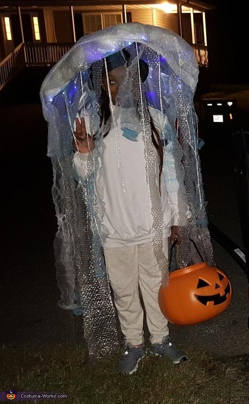 Jellyfish Girl's Halloween Costume