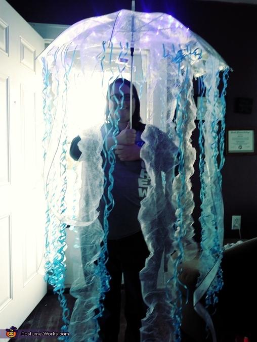 DIY Jellyfish Costume