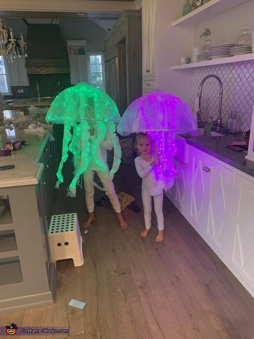 Jellyfish Homemade Costume