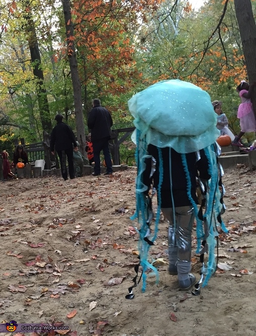 Jelly in the wild, Jellyfish Costume