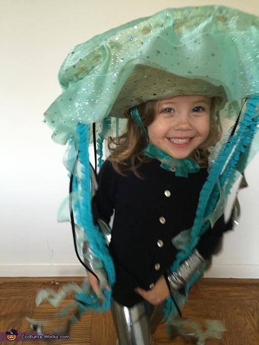 Jellyfish Girl Homemade Costume