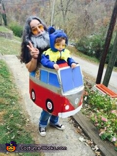 Jerry Garcia and Dancing Bear Homemade Costume