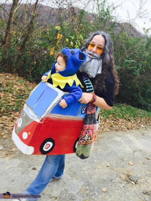 Jerry Garcia and Dancing Bear Homemade Costume
