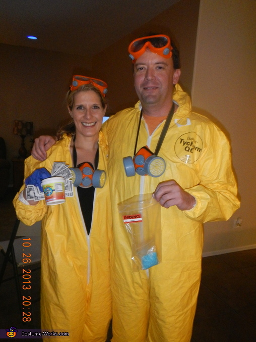 Breaking Bad Jesse Pinkman and Walter White Costume