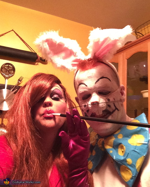 Jessica and Roger Rabbit Costume