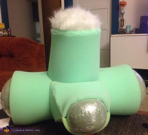 Jessica and Roger Rabbit Homemade Costume