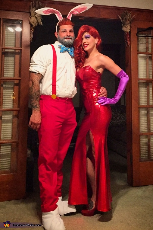 Roger and Jessica Rabbit, Jessica and Roger Rabbit Costume