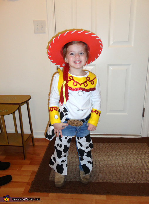 Toy Story Jessie the Cowgirl - Homemade costumes for girls