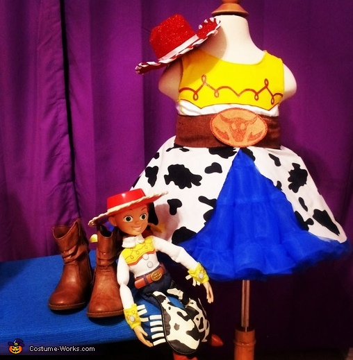 The full outfit complete with Jessie Doll!, Jessie from Toy Story Baby Costume