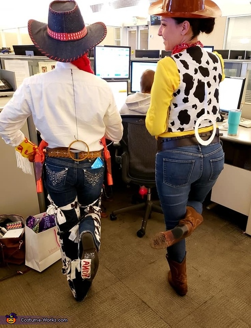 'Andy' - Woody and Jessie, Jessie from Toy Story Costume