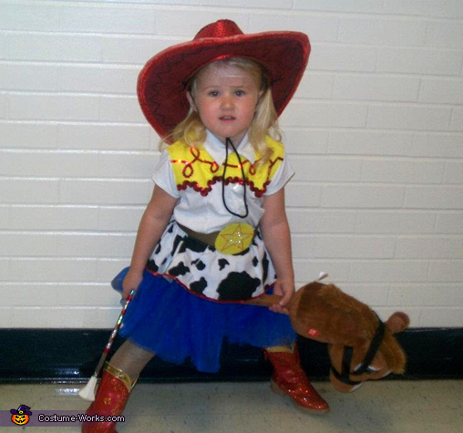 Jessie from Toy Story - Homemade costumes for girls