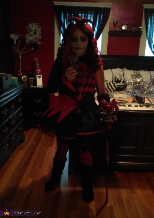Jestina, Jestina & Jester Costume