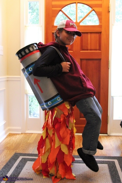 Jet Pack Illusion Costume
