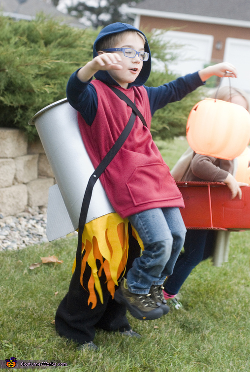 Jet Pack Man Costume