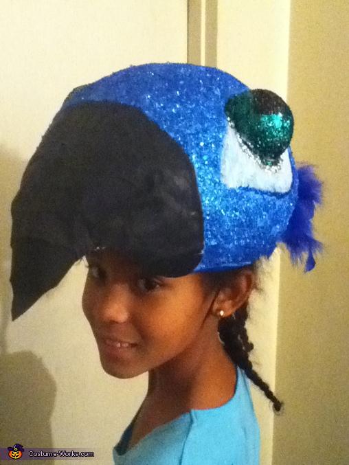 head piece, Jewel from Rio Costume