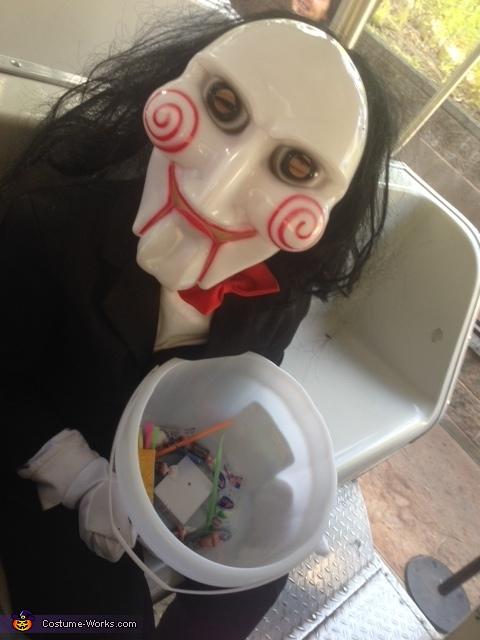 Jigsaw Homemade Costume