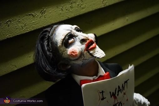 Jigsaw wants to be your friend, Jigsaw Costume