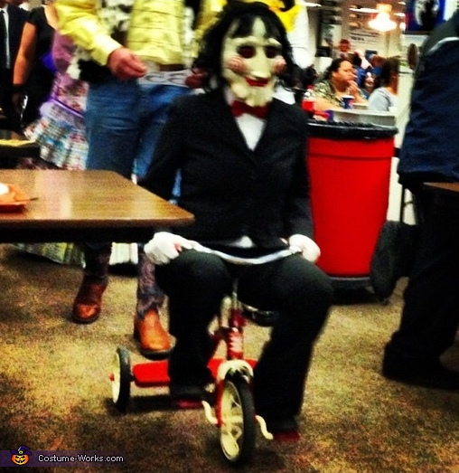Jigsaw Puppet from Saw Costume