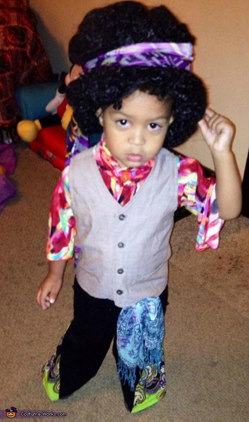 Jimi Hendrix Baby Costume