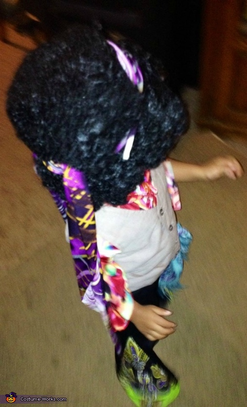 Check out my fly bells, Jimi Hendrix Baby Costume