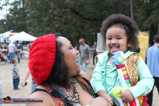 Jimi and Mom, Jimi Hendrix Costume