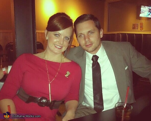 Joan Holloway & Don Draper of Mad Men Costume