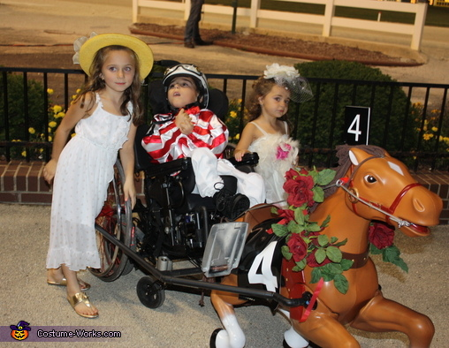 Little Jockey Homemade Wheelchair Costume