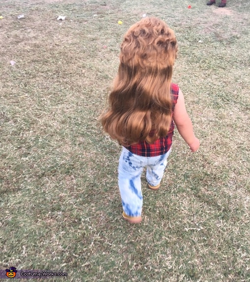 Joe Dirt Baby Homemade Costume