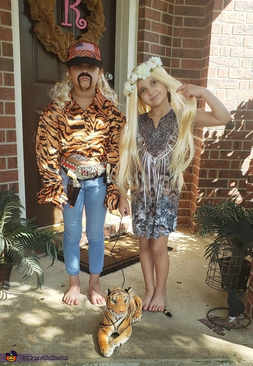 Joe Exotic & Carol Baskin Costume