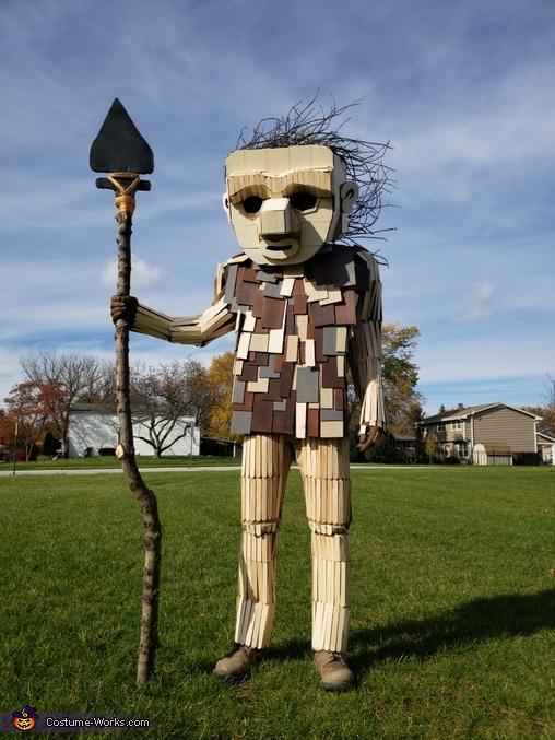 Joe the Guardian Troll Costume