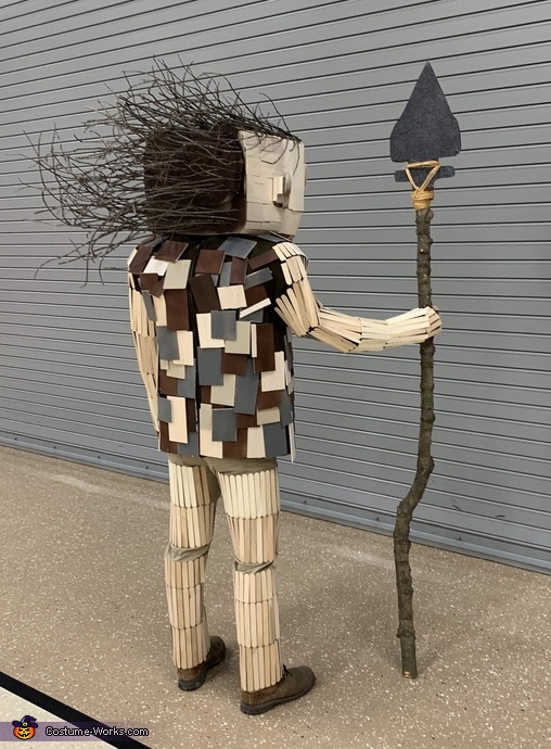 Joe the Guardian Troll Homemade Costume