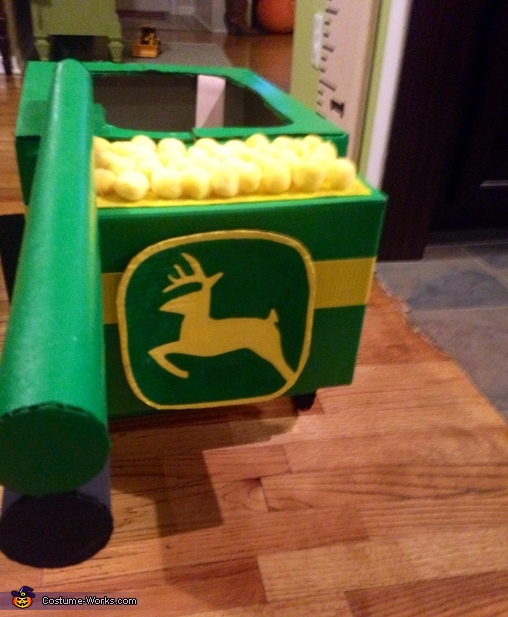 Rear View, Ace John Deere Combine Costume