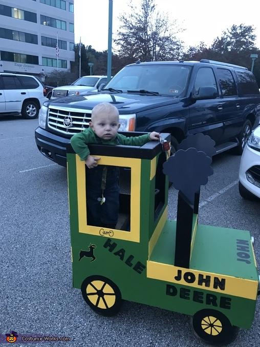 John Deere Farmer Homemade Costume