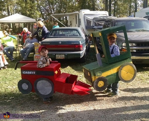 Battle of the colors, John Deere Tractor Costume