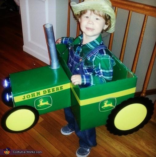 John Deere Tractor Farmer Costume
