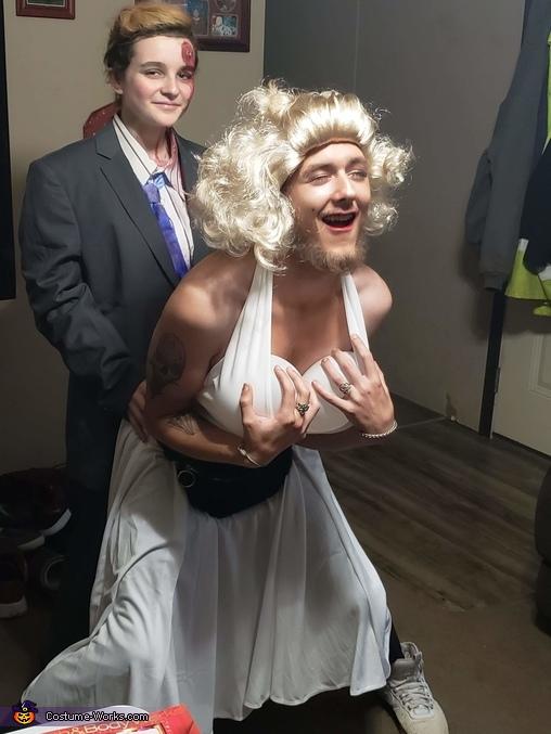 John F. Kennedy and Marilyn Monroe Homemade Costume
