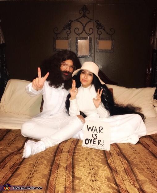 john lennon and yoko ono couple halloween costume photo 36