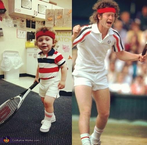 John McEnroe Baby Costume