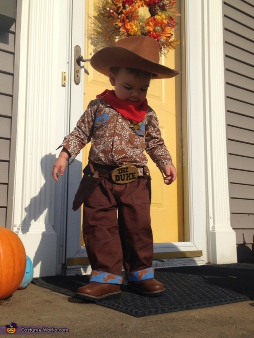 John Wayne Express Homemade Costume