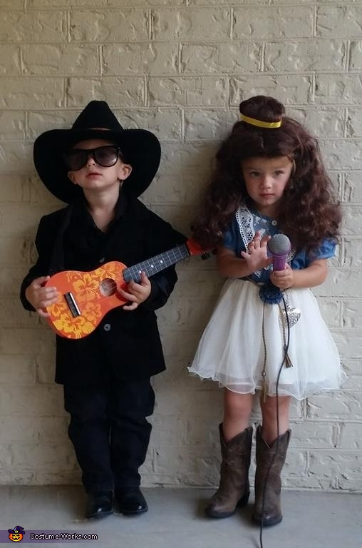 Johnny Cash and June Carter Twins Costume
