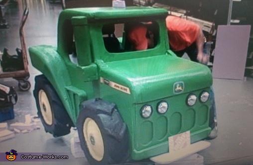John Deere Tractor Wheelchair Costume