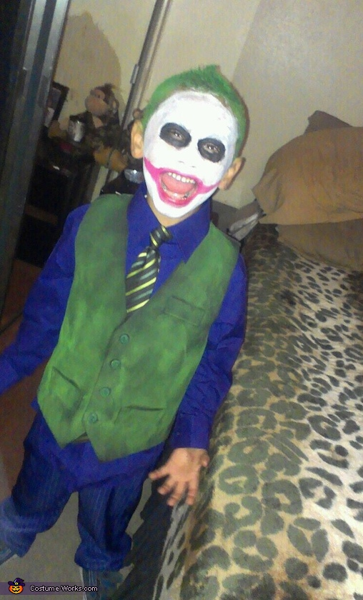 joker costume - Joker Halloween Costume Kids