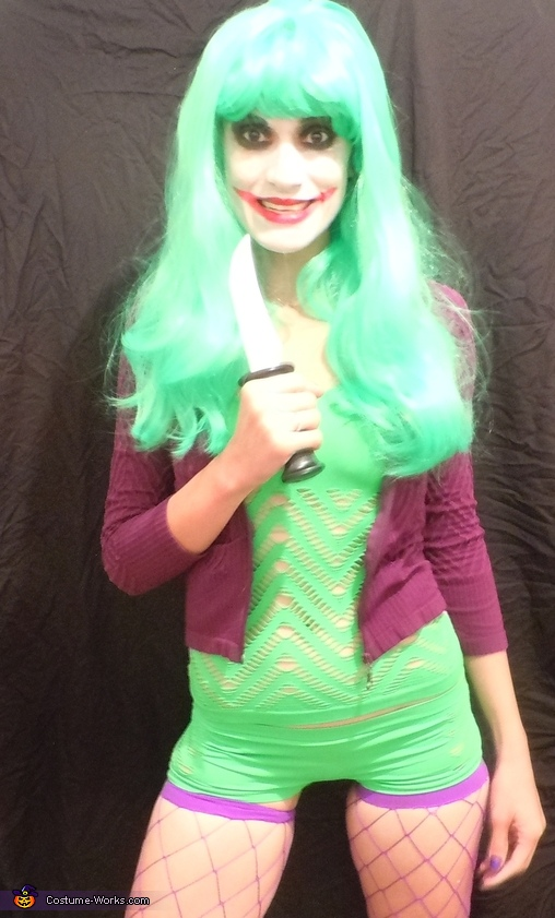Creative DIY Costume Ideas for Women - The Joker Costume Idea for Women  sc 1 st  Costume Works & 50 Creative DIY Halloween Costume Ideas for Women