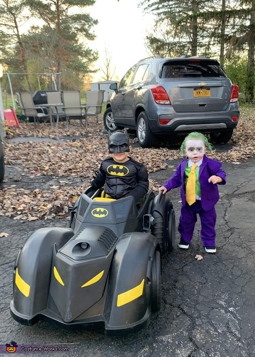 Joker and Batman Costume