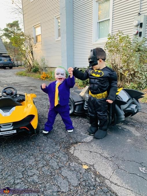Joker and Batman Homemade Costume