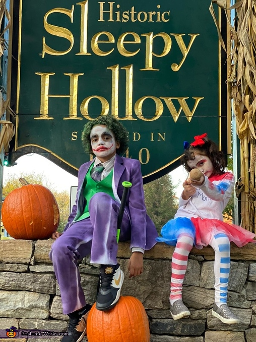 Welcome to sleepy Hollow, Joker and Harley Quinn Costume